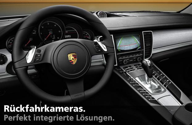 ruekfahrkamera Nachrüstung in VW Skoda Seat Mercedes Audi perfekte integration im original Bildschirm