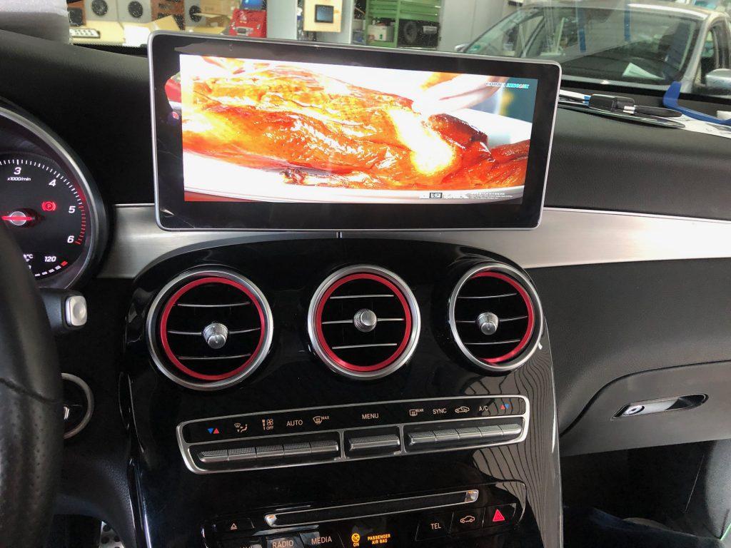 Mercedes Carplay Nachrüstung 10,25 Zoll W205