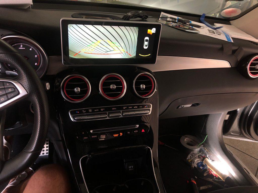 Mercedes Carplay Display Upgrade 10,25 im GLC W253