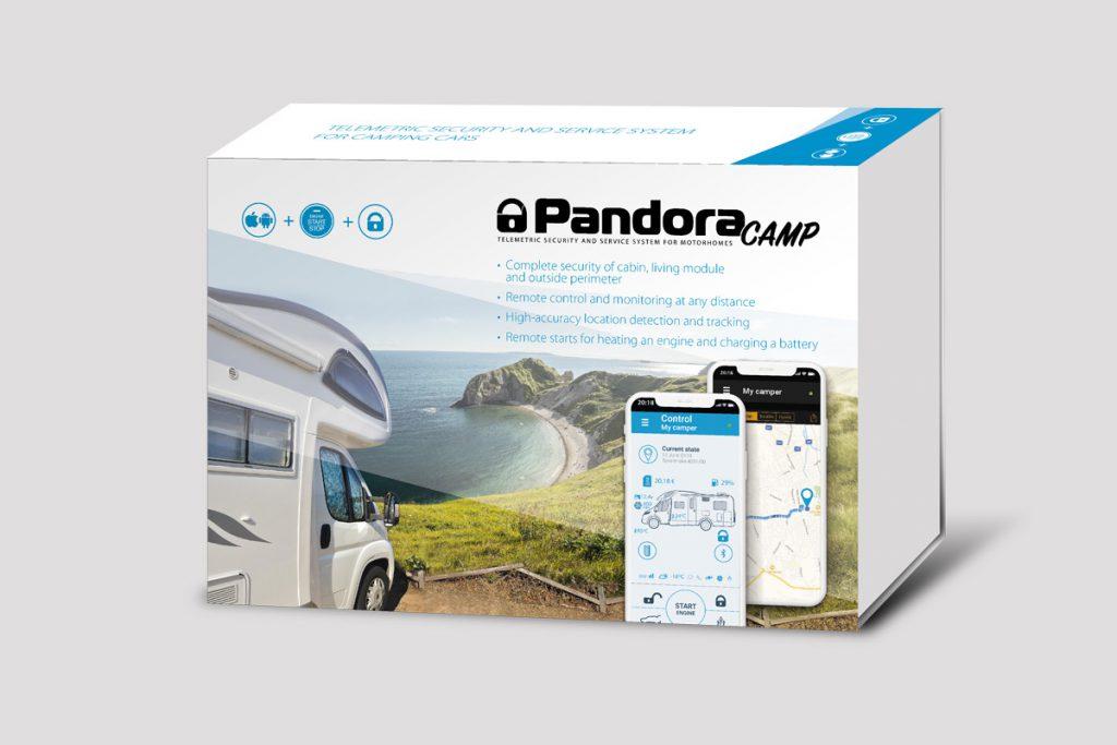 Pandora Camper Wohnmobil Alarmanlage mit Ortungssystem & Smartphone App inkl. Einbau 1