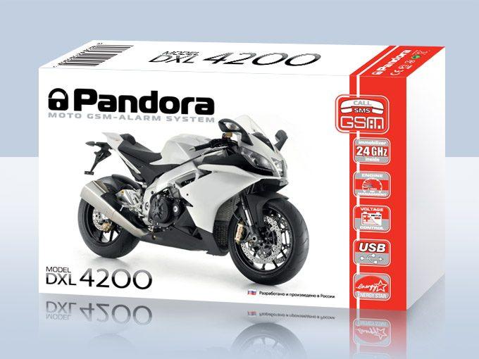 Pandora Moto Zweirad Alarmanlage Motorrad alarmanlage