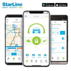 Starline Alarmanlage mit GPS Ortungssystem und Smartphone App inklusive Einbau in Berlin