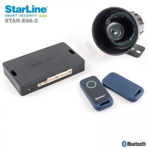 Starline E66-2 Can Bus Alarmanlage mit Bluetooth Tags wegfahrsperre