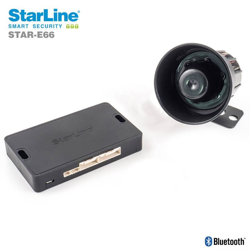Starline E66 Alarmanlage für Fahrzeuge OHNE KeylessGo