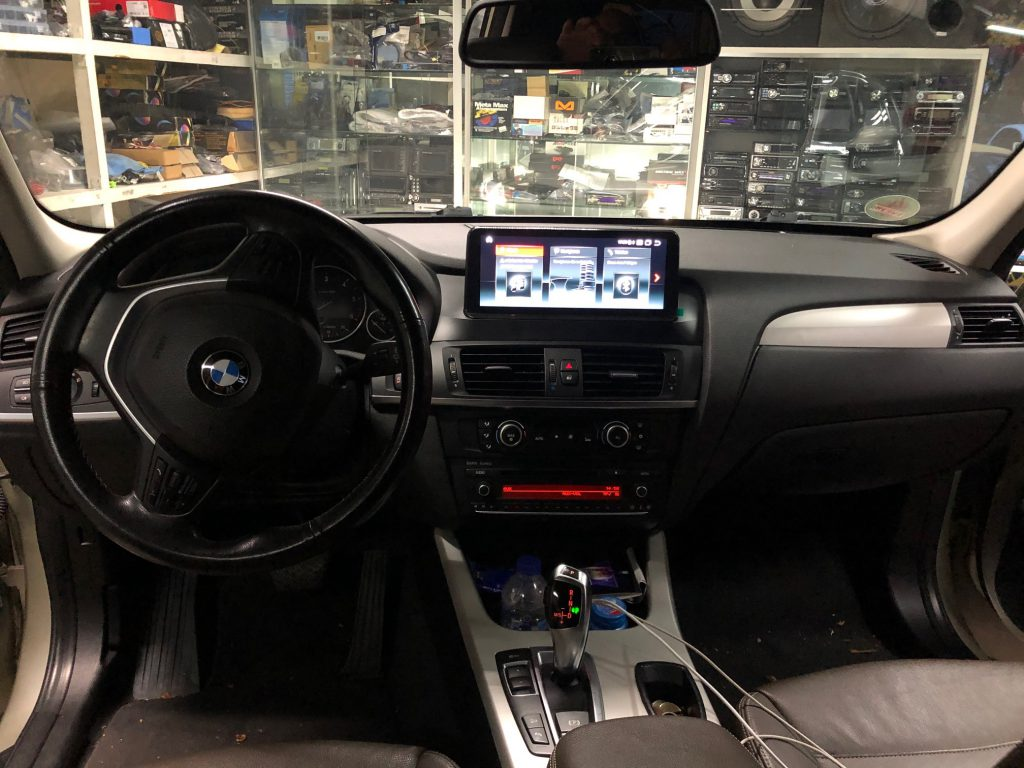 Android Display upgrade BMW X3 F25 CarPlay Android Auto 10Zoll nachrüstung