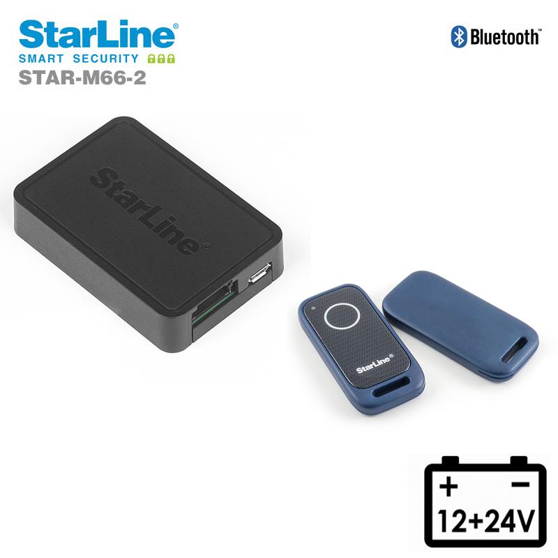 Starline M66-2 Ortungssystem mit Can Bus Wegfahrsperre über die Bluetooth Tags 1