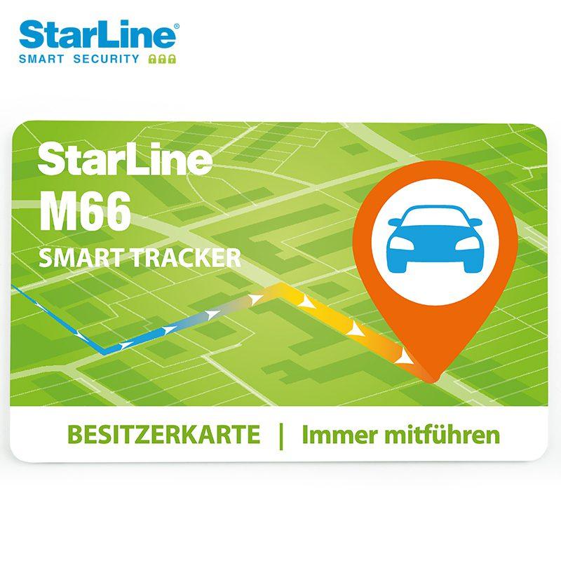 Starline M66-2 Ortungssystem mit Can Bus Wegfahrsperre über die Bluetooth Tags 2