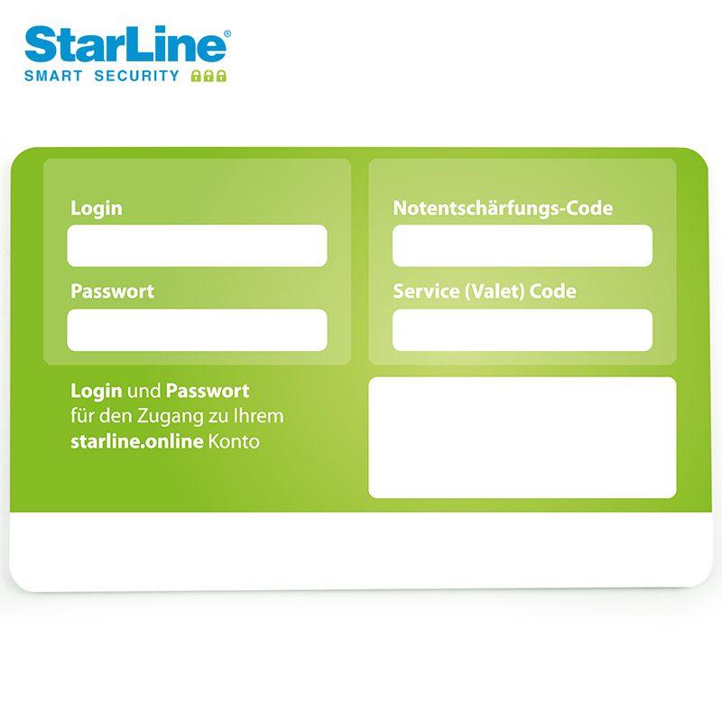 Starline M66-2 Ortungssystem mit Can Bus Wegfahrsperre über die Bluetooth Tags 3