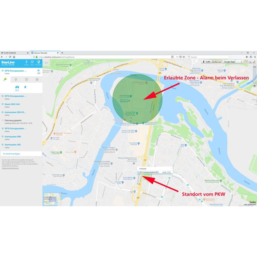 STARLINE M18 GPS-Ortungssystem Flottenmanagmentsystem 4