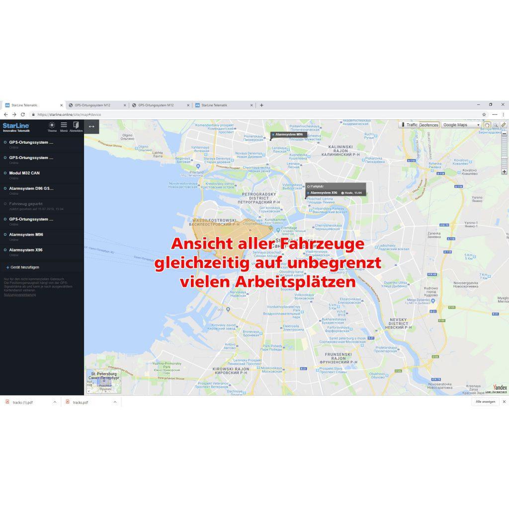 STARLINE M18 GPS-Ortungssystem Flottenmanagmentsystem 8