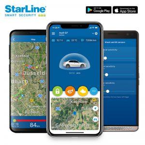 Starline Autoalarm Smartphone App. Immer inklusive einer zusätzlichen Wegfahrsperre in Berlin bei Jam Car HiFi