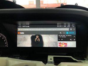 Mercedes W221 S-Klasse modernes Touchscreen 10,25 Zoll Display Nachrüsten Berlin 6