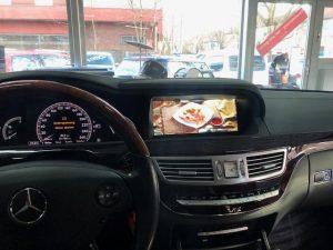 Mercedes W221 S-Klasse modernes Touchscreen 10,25 Zoll Display Nachrüsten Berlin 1
