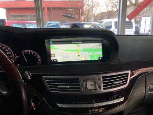 Mercedes W221 S-Klasse modernes Touchscreen 10,25 Zoll Display Nachrüsten Berlin 2