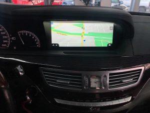 Mercedes W221 S-Klasse modernes Touchscreen 10,25 Zoll Display Nachrüsten Berlin 3