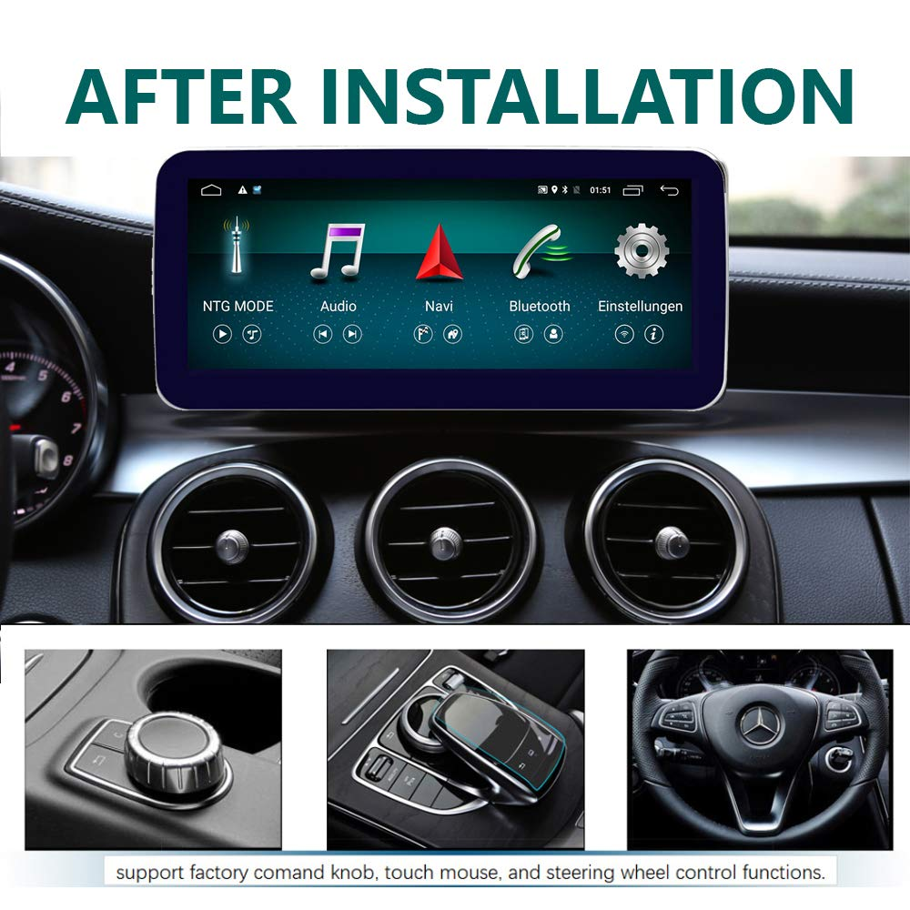 Mercedes W205 C-Klasse Display Upgrade Carplay 10,25 Zol