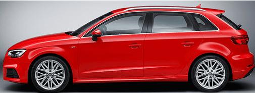 Audi A3 S3 RS3 8V 2013-2020 alle passenden Alarmanlagen hier klicken