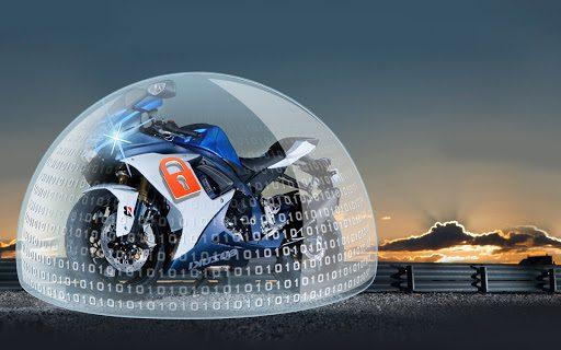 Starline V66 Motorrad Zweirad Alarmanlage mit Wegfahrsperre