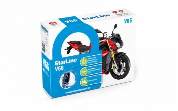 STARLINE V66 Motorrad Alarmanlage