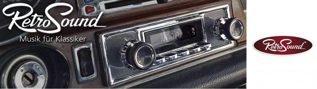 Retrosoud Radios für Oldtimer / Youngtimer