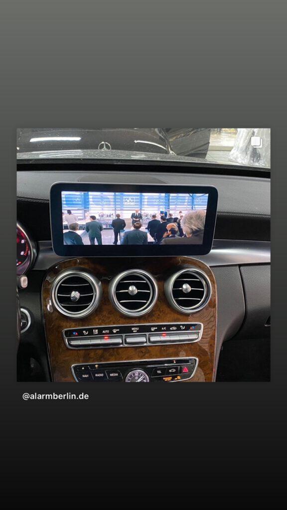 Carplay Android Auto Freischalten Mercedes 1